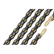 Connex 9sB 9 Speed Bike Chain Black EDI Coating, Brass