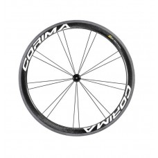 Corima 47mm WS Black Carbon Clincher Front Wheel
