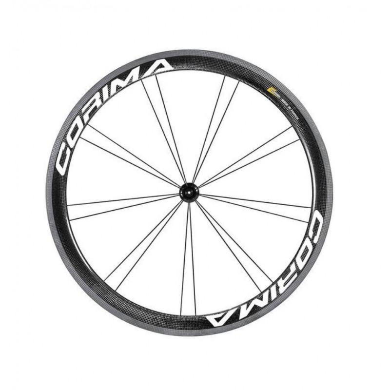 Corima 47mm WS Black Carbon Clincher Front Wheel