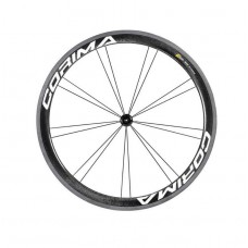 Corima 47mm WS Black Carbon Tubular Front Wheel