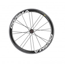 Corima 47mm WS Black Carbon Tubular Rear Wheel