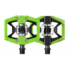 CrankBrothers Double MTB Clipless Pedal Shot Light Green