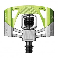CrankBrothers Mallet 2 MTB Clipless Pedal Raw Green