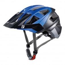 Cratoni Allset MTB Helmet Blue Black Grey Matt