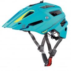 Cratoni Alltrack MTB Helmet Blue Lime Rubber