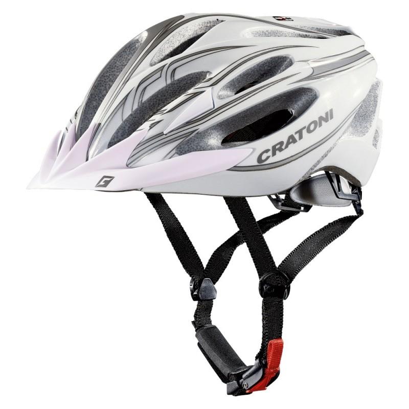 Cratoni C-Blaze Road Bike Helmet White Champagne Matt