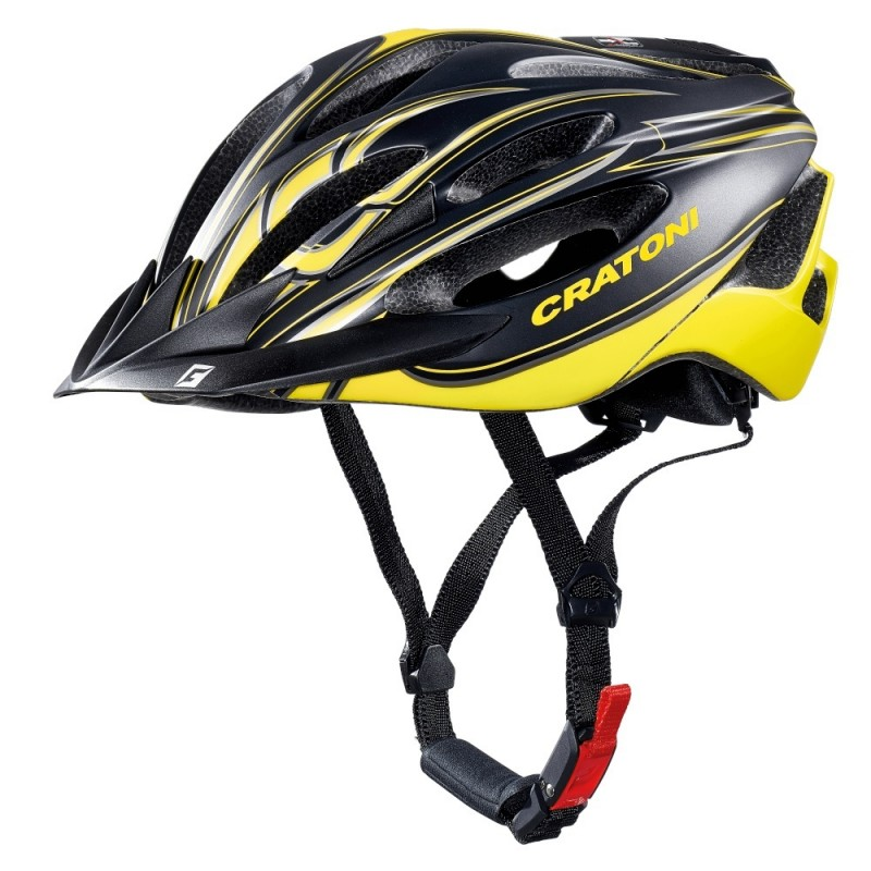 Cratoni C-Blaze Road  Helmet Black Yellow Matt