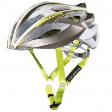 Cratoni C-Bolt Road Helmet Anthracite White Lime Glossy