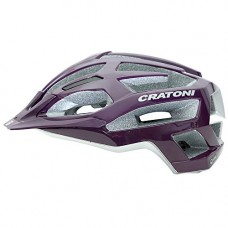 Cratoni C-Flash MTB Helmet Purple Silver Glossy