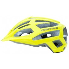 Cratoni C-Flash Yellow Anthracite Glossy