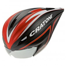 Cratoni C-Pace Road Helmet Black Red White