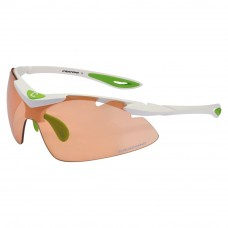 Cratoni Fly Neon Orange Smoke Biking Glasses