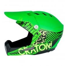 Cratoni Shakedown MTB Helmet Green Matt