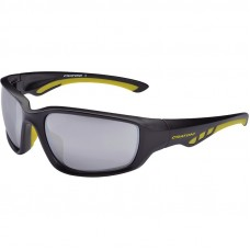Cratoni Wave Black Matt Yellow Cycling Sunglasses