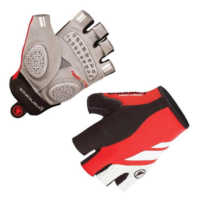 Endura FS260-Pro Aerogel Mitt II Gloves, Red