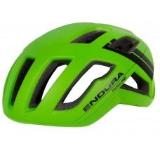 Endura F-260 Pro Road Cycling Helmet HI-Viz Green (GV)