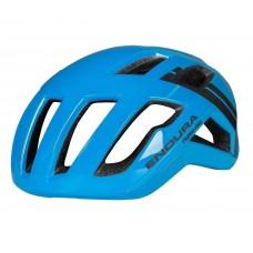 Endura F260 Pro Road Cycling Helmet Hi-Viz Blue (BV)