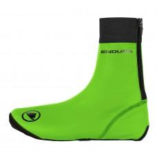 Endura FS260-Pro Slick Overshoe II Hi-Viz Green