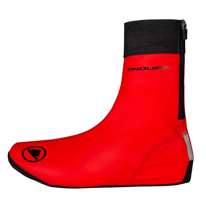 Endura FS260-Pro Slick Overshoe Red
