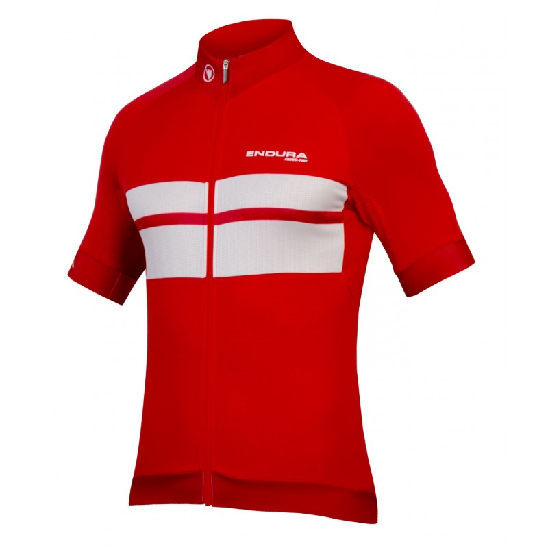 Endura FS260-Pro SS Cycling Jersey Red