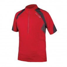 Endura Hummvee II S/S Cycling Jersey Red