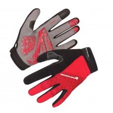 Endura Hummvee Plus Cycling Glove Red