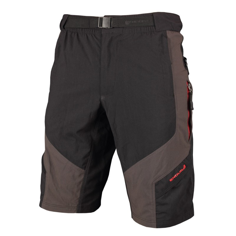 Endura Men's Hummvee MTB Shorts, Grey/Black