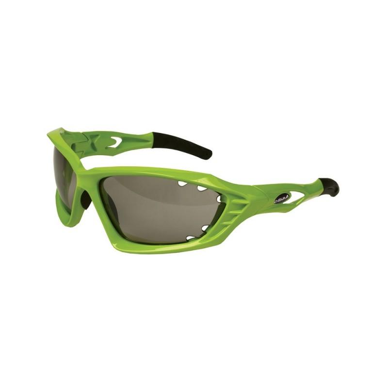 Endura Mullet Photochromic Glasses, Lime