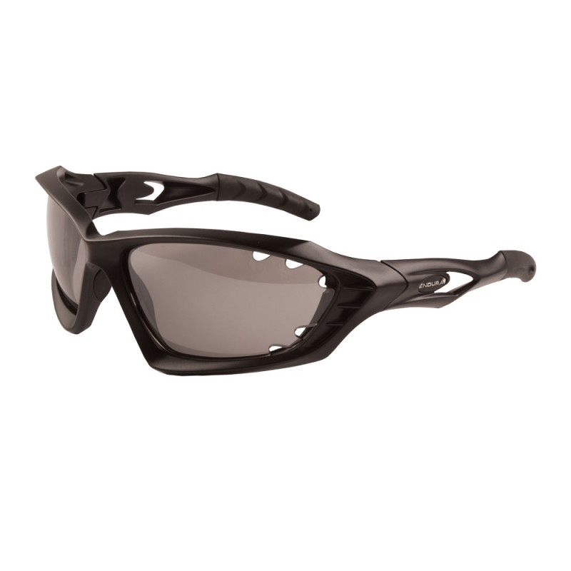 Endura Mullet Photochromic Glasses, Matt Black