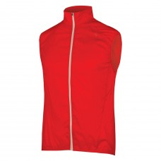 Endura Pakagilet II Windproof Red