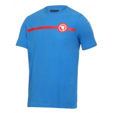 Endura Stripe Tee Blue