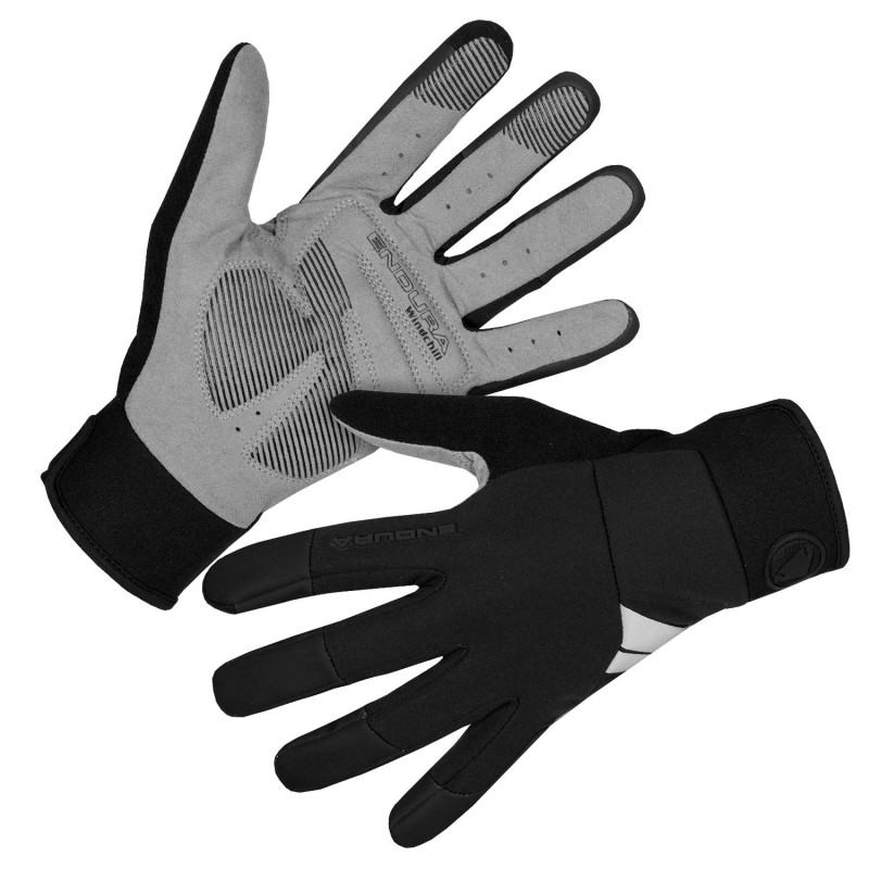 Endura Windchill Cycling Gloves Black