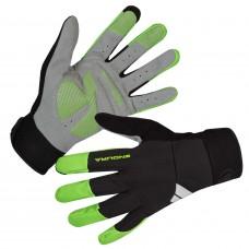 Endura Windchill Cycling Gloves Hi-Viz Green (GV)