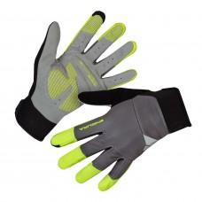 Endura Windchill Cycling Gloves Hi-Viz Yellow (YV)