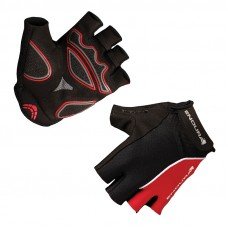 Endura Xtract Mitt Summer Cycling Gloves, Red