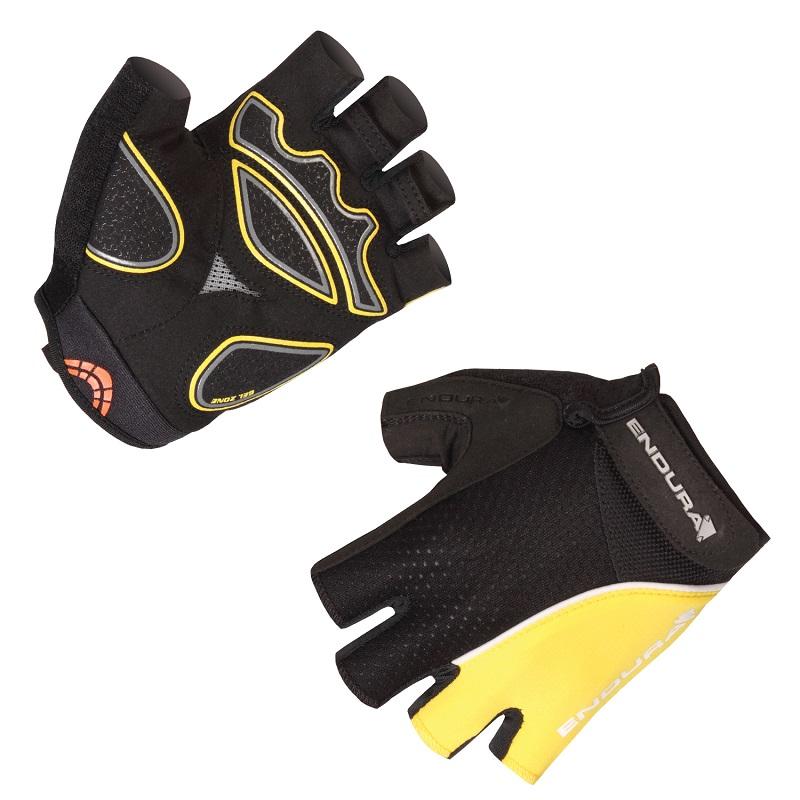 Endura Xtract Mitt Summer Cycling Gloves, Yellow