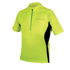 Endura Xtract SS Cycling Jersey II Hi-viz Yellow