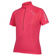 Endura Xtract Women SS Cycling Jersey Hi-Viz-Pink