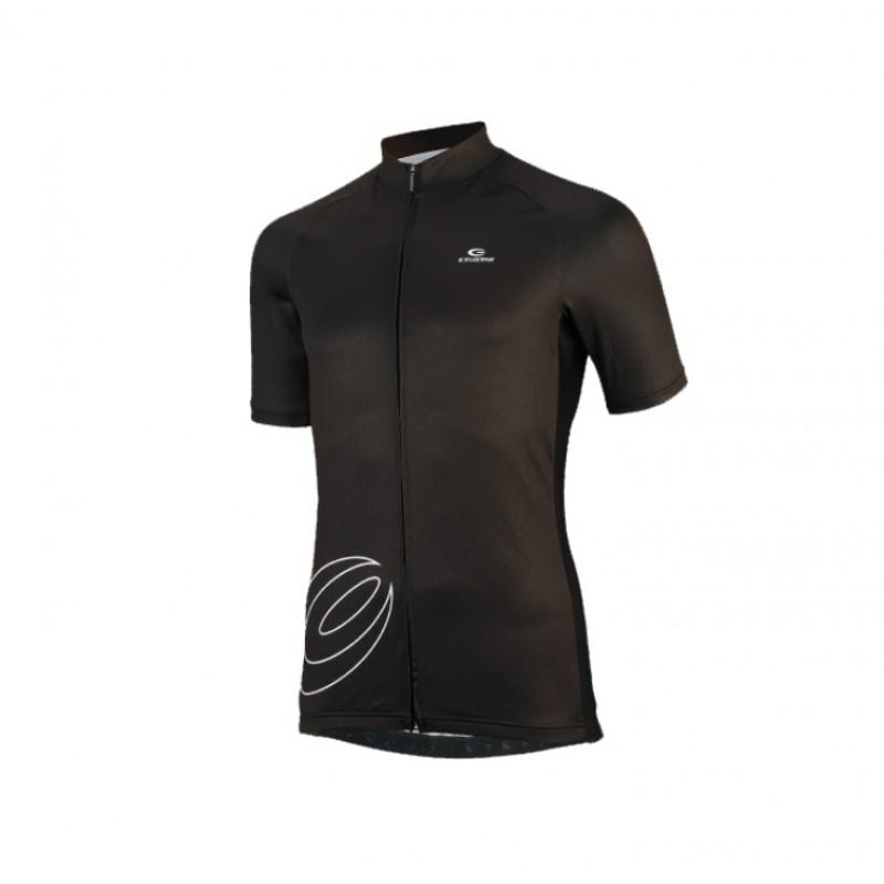 Exustar Cycling Jersey Black
