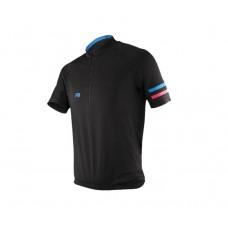 Exustar Cycling Jersey Black Blue