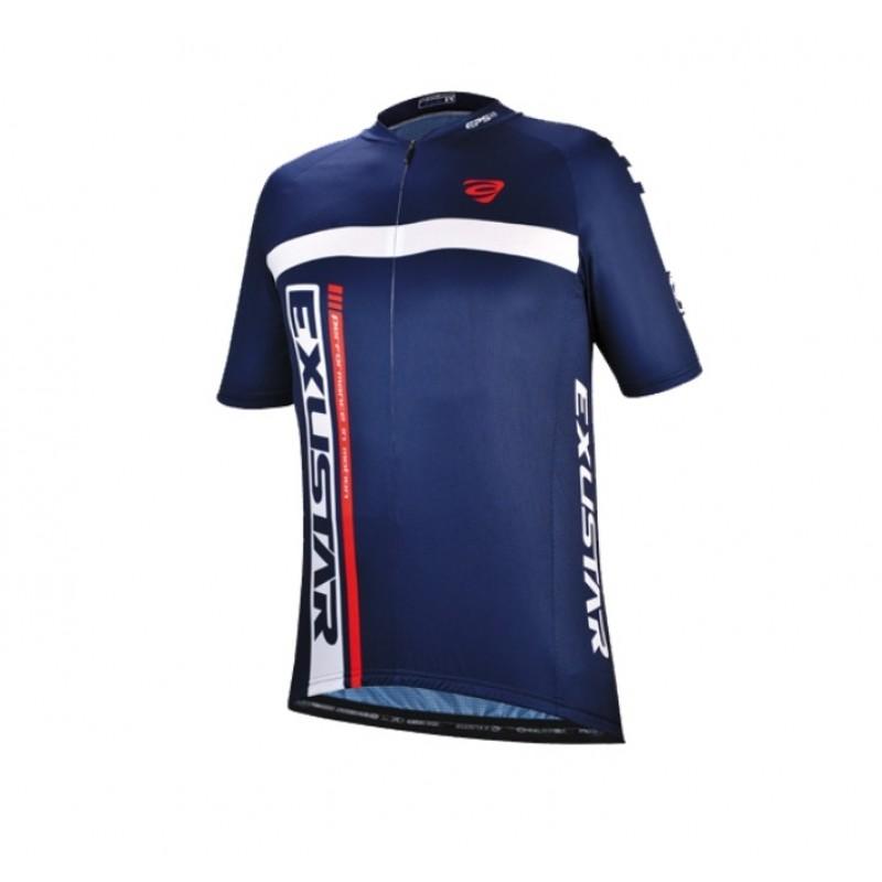 Exustar Cycling Jersey Blue
