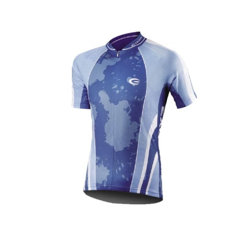 Exustar Cycling Jersey Blue Light Blue