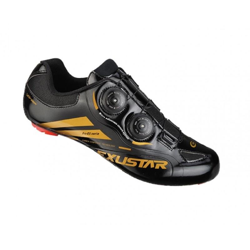 Exustar Cycling Road Shoe Black