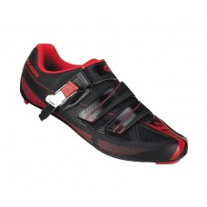 Exustar Cycling Road Shoe Black Red