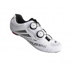 Exustar Cycling Road Shoe White