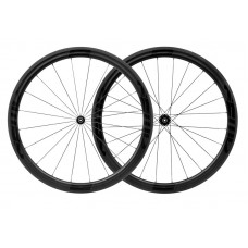 FFWD F4R DT350 Road Full Carbon Clincher Wheel Set Black