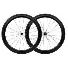 FFWD F6R DT350 Road Full Carbon Clincher Wheel Set Black