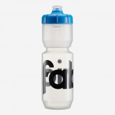 Fabric Gripper Water Bottle Clear/Blue-750ml