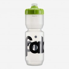 Fabric Gripper Water Bottle Clear/Green-750ml