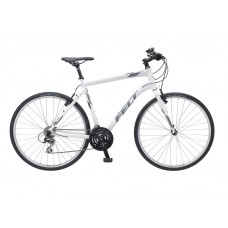 Felt QX65 Hybrid Bike 2017 Gloss White Reflective Charcoal Grey
